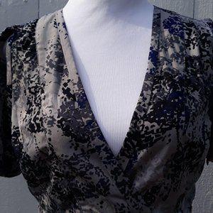 Banana Republic Dress side zip Women's 10 Gray